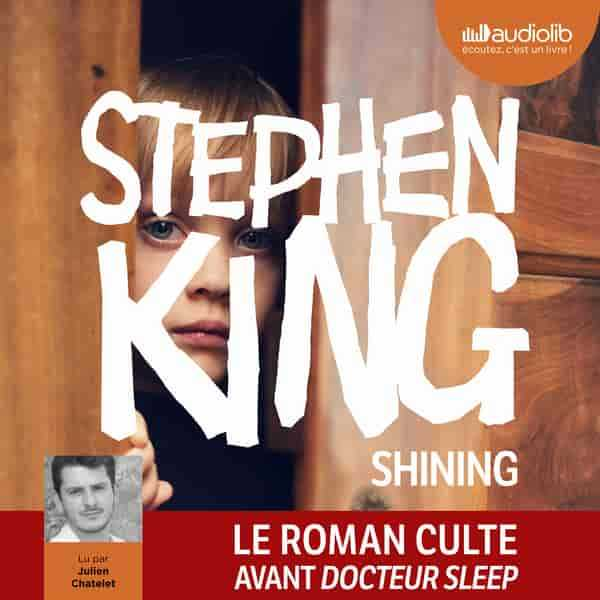 Couverture du livre audio Shining De Stephen KING