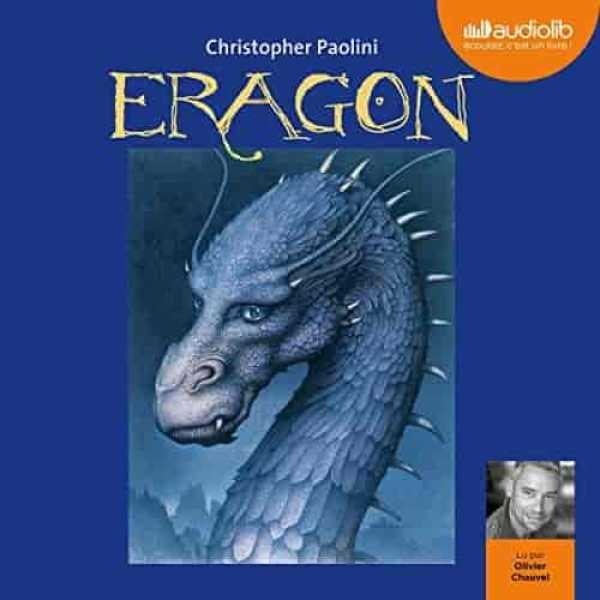 Couverture du livre audio Eragon 1 De Christopher PAOLINI