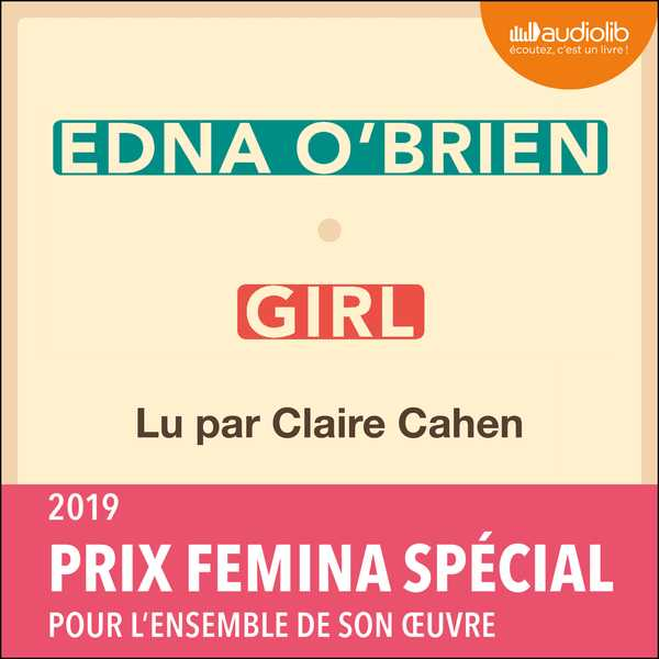Couverture du livre audio Girl De Edna O'BRIEN