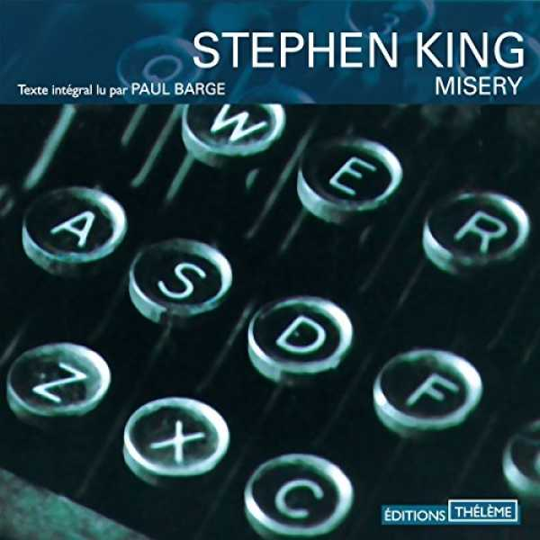 Couverture du livre audio Misery De Stephen KING