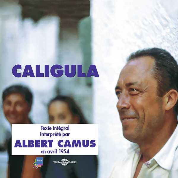 Couverture du livre audio Caligula De Albert CAMUS