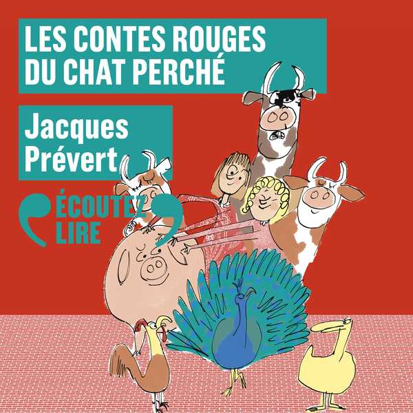 Couverture du livre audio Contes rouges du chat perché De Marcel AYME