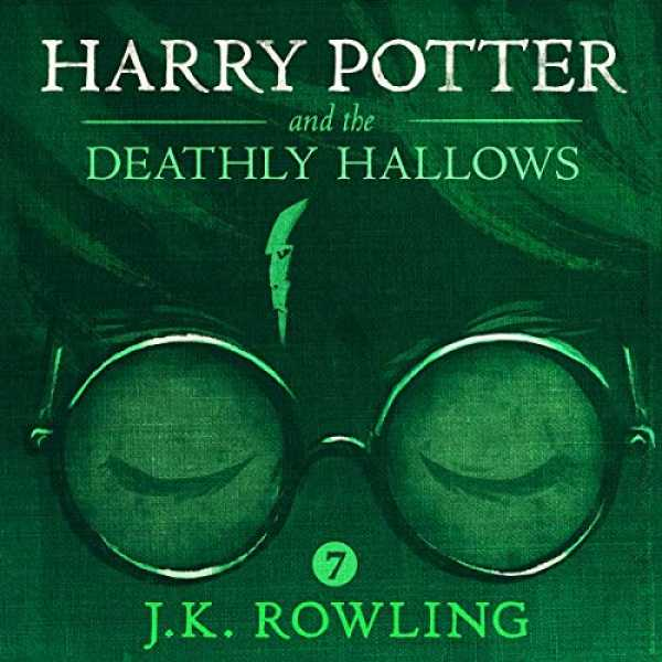 Couverture du livre audio Harry Potter and the Deathly Hallows (UK Edition) De J.K. Rowling
