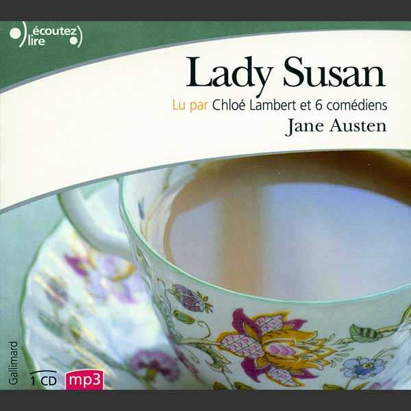 Couverture du livre audio Lady Susan De Jane AUSTEN