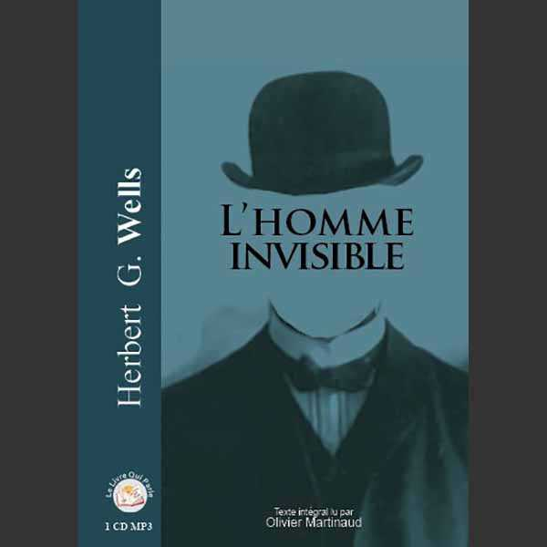 Couverture du livre audio L'Homme invisible De Herbert George WELLS