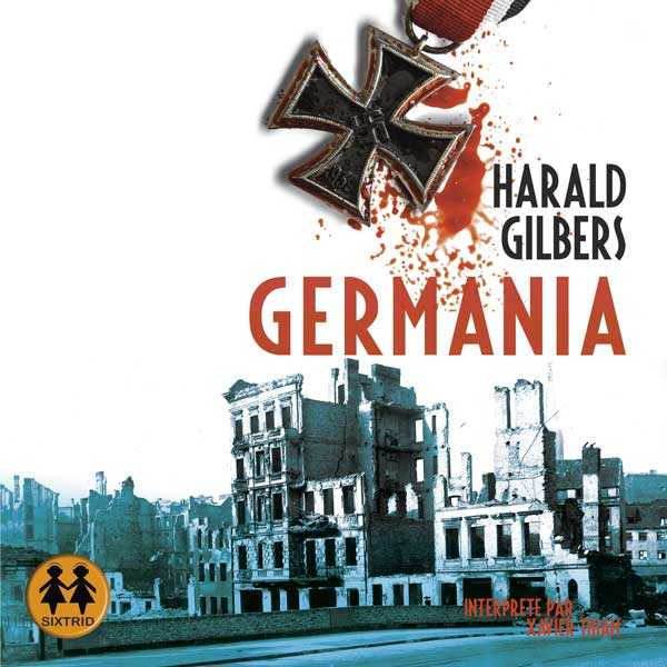 Couverture du livre audio Germania De Harald GILBERS