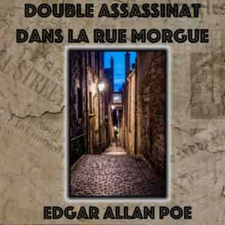 Couverture du livre audio Double Assassinat dans la rue Morgue De Edgar Allan POE