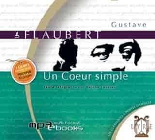 Couverture du livre audio Un cœur simple De Gustave FLAUBERT