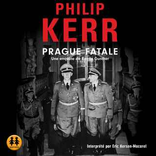 Couverture du livre audio Prague Fatale