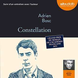 Couverture du livre audio Constellation