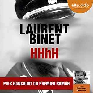 Couverture du livre audio HHhH De Laurent BINET