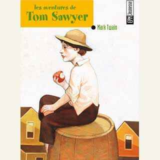 Couverture du livre audio Les Aventures de Tom Sawyer De Mark TWAIN