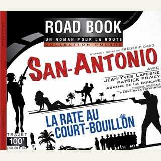 Couverture du livre audio San-Antonio : La Rate au court-bouillon