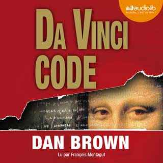 Couverture du livre audio Da Vinci code De Dan BROWN