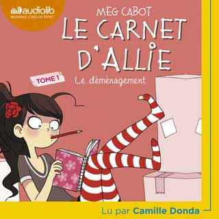 Couverture du livre audio Le carnet d'Allie