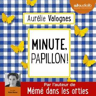 Couverture du livre audio Minute, papillon !